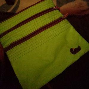 Green Dooney & Bourke crossbody bag