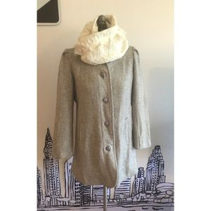 Vintage Wool Peacoat