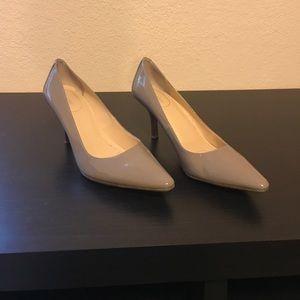 Calvin Klein grey pumps