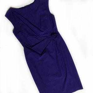 Suzi Chin for Maggy Boutique purple midi dress