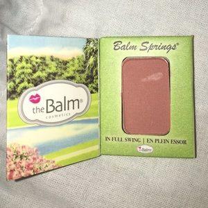 🔴 The Balm 'Balm Springs' Blush Sample