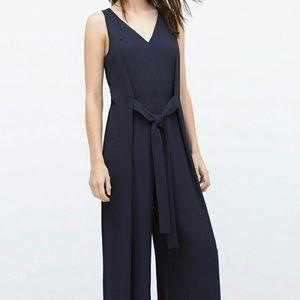 Zara Navy Blue Jumpsuit *Worn Once*