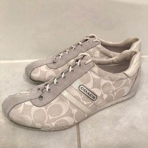 Coach White Sneakers