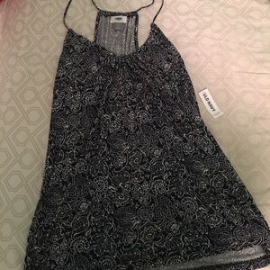 NWT- Floral Swing Tank