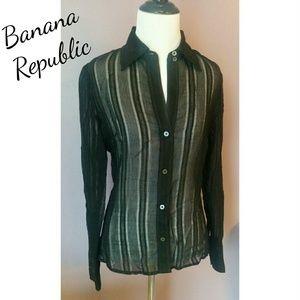 Banana Republic sheer top