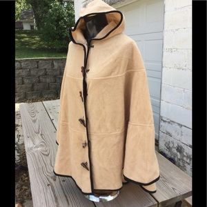 Jackets & Blazers - NWOT button hooded cape