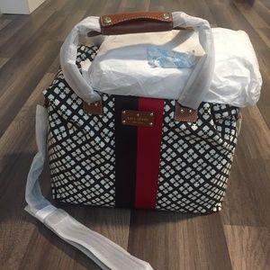 KATE SPADE Classic Spade Juliet Weekender Bag Trav