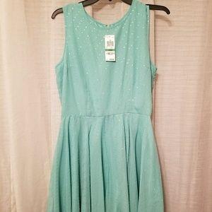 Teal Pixie Dress