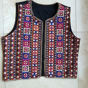 Jackets & Blazers - Colorul Embroidered Vest