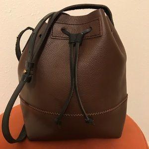 J.Crew drawstring purse