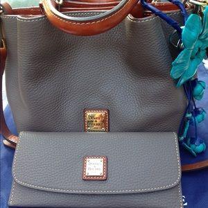 Dooney & Bourke Mini Barlow and Matching Wallet