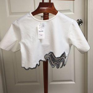 Zara Woman Crop top
