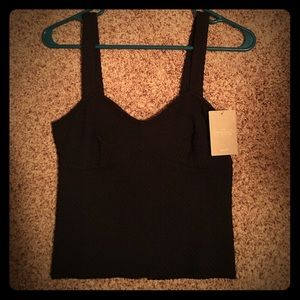 Anthropologie size small crop top
