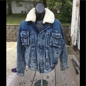 Vintage heavy Levi coat.