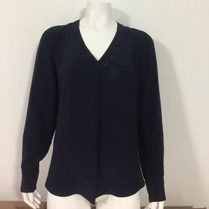 💠 J.CREW💠🏃🏻‍♀️Women's Blouse Blue Medium M/8