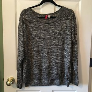 H&M Divided Gray Long Sleeve Sweater