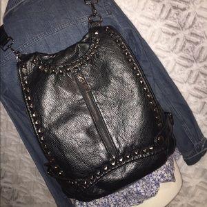 Gorgeous Black Studded Bag