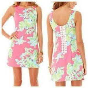 Lilly Pulitzer Pink Lemonade Delia Dress Sz 6