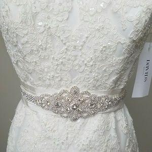 New wedding rhinestone belt