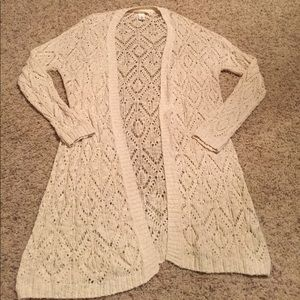 H&M long knit cardigan