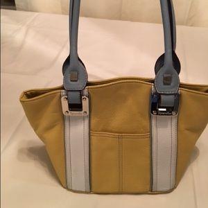 Tiganello leather mustard bag