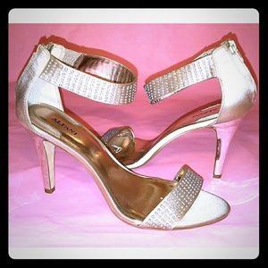 Alfani Gold Open Toe Sandals
