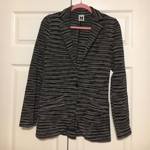 🔥M Missoni Women's Soft Blazer Jacket Size US 6