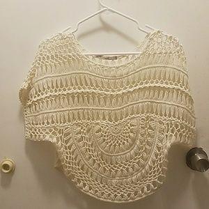 Crochet boho top