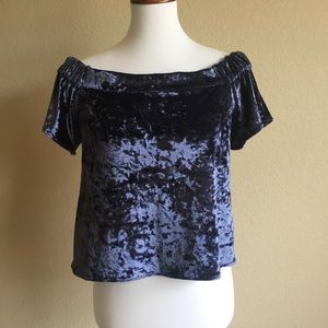 LuLu's Top Size S Shimmer