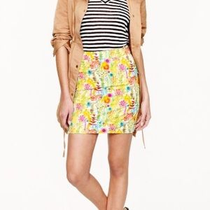 J.Crew Liberty of London mini skirt