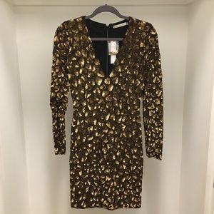 Alice & Olivia Nora Sequined Dress