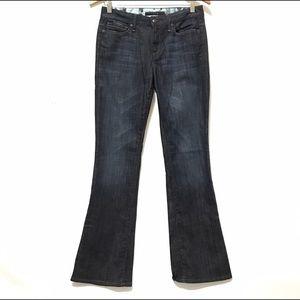 Joes Jeans 26 Dark Blue Denim Muse Flare Wide Leg