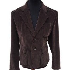 J. Crew Corduroy Two Button Jacket