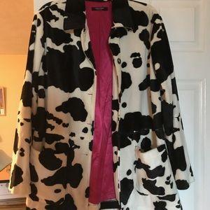 Cow Print blazer