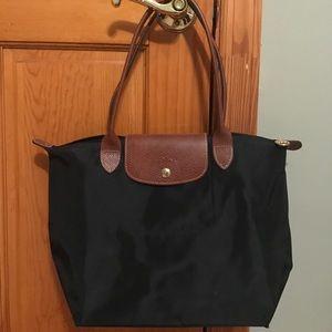 Longchamp Medium Black Bag
