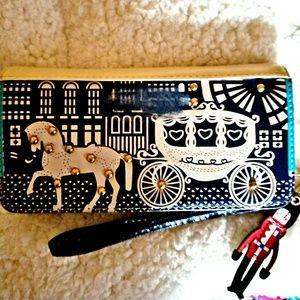 Fairytale clutch wallet.