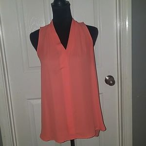 Vince Camuto corral sleeveless top size s