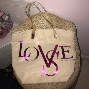 Victoria's Secret Love Tote New with Tag