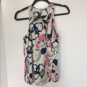 Violet & Claire sleeveless printed top