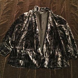 Express leopard jacket