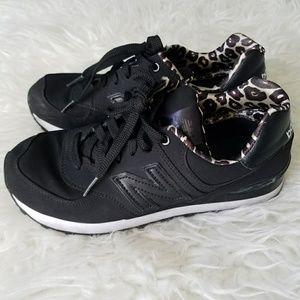 New Balance Cheetah Print Sneakers