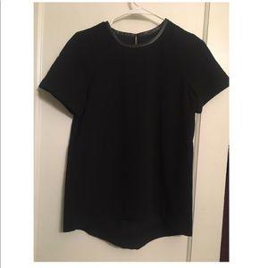 Madewell black stylish blouse