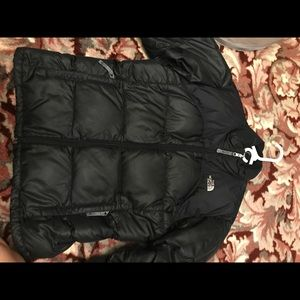Girls North Face down jacket
