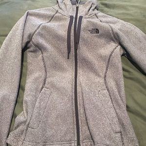 North Face Zip up jacket XS