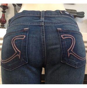 Sexy XLong Boot Cut Rock & Republic Jeans