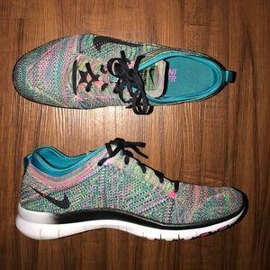 Nike TR Multicolor Free Flyknit (Size 11 Women)