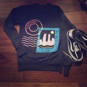 Tops - Vintage Chicago 90s sweatshirt small