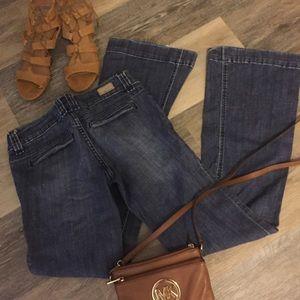 Refuge Fit & Flare Trouser Jeans