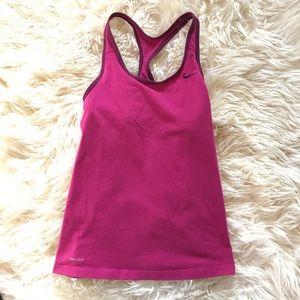 Nike Pink Dri Fit Tank Top