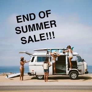END OF SUMMER SALE! ✨